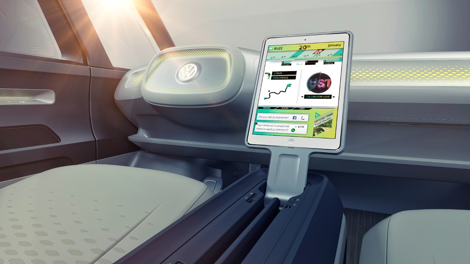 Technology included with Volkswagen's I.D. Buzz