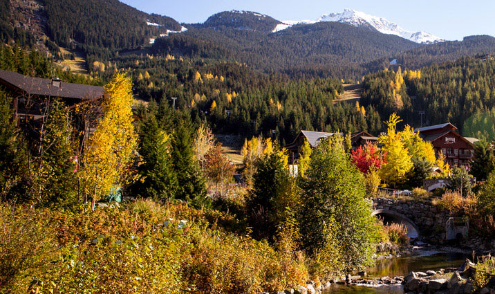 Whistler in Fall